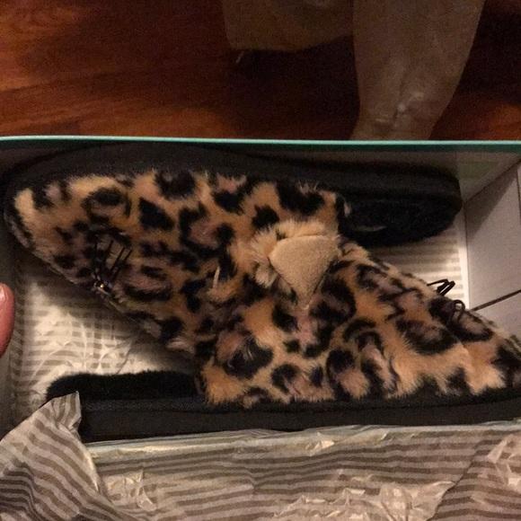 5a34789200de kate spade Shoes | Belindy Leopard Slippers | Poshmark